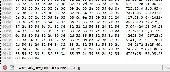 Wireshark packets